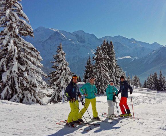 Passy Plaine-Joux ski Station