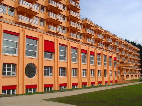 Sanatoriums et l'Architecture moderne