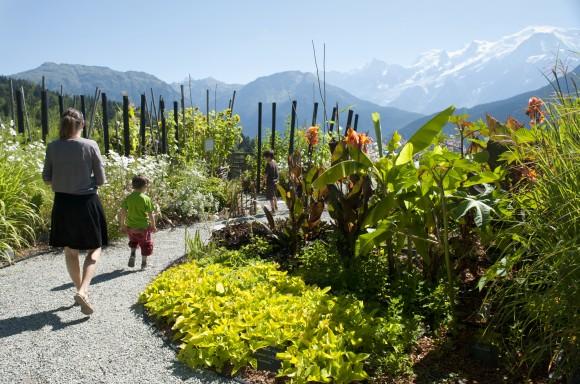 The jardin des cimes