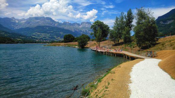 Lac de Passy - Base de loisirs