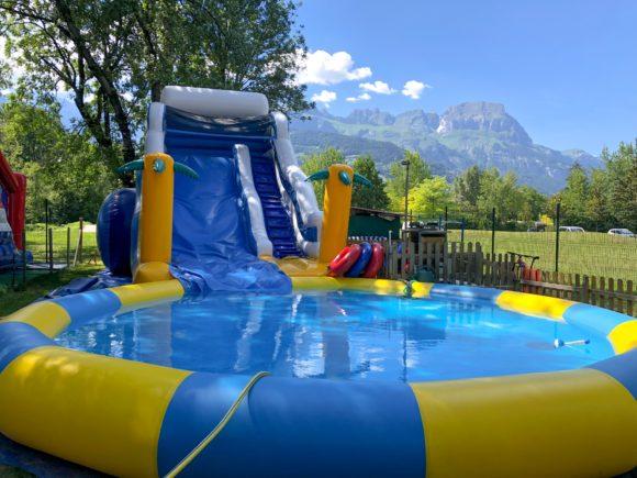 Les activités de la base de loisirs