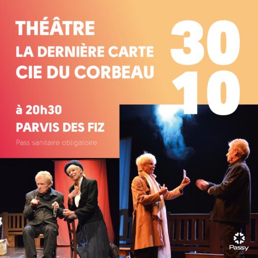 Théâtre « La dernière carte »