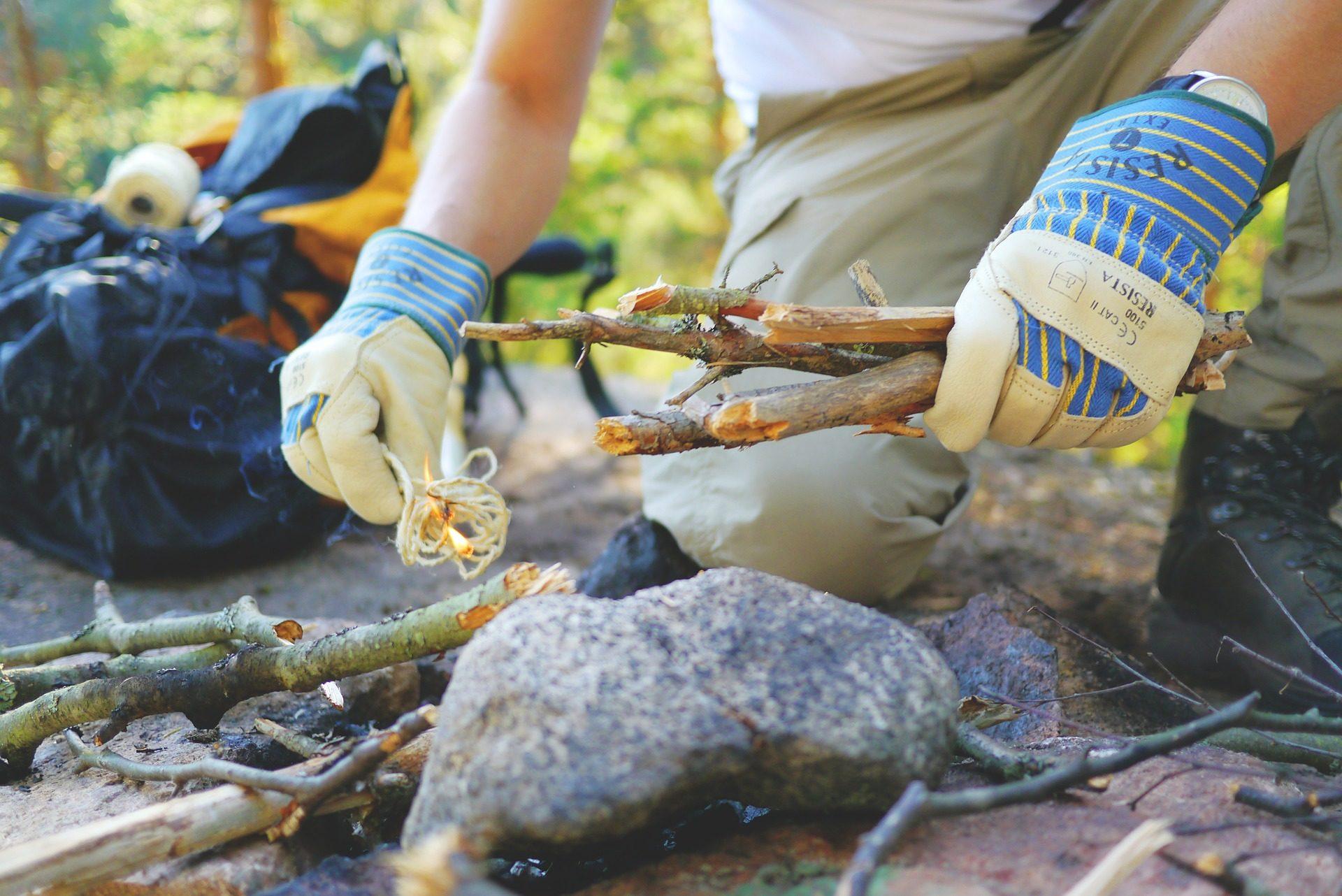 Sortie bushcraft, apprenez votre vraie nature !