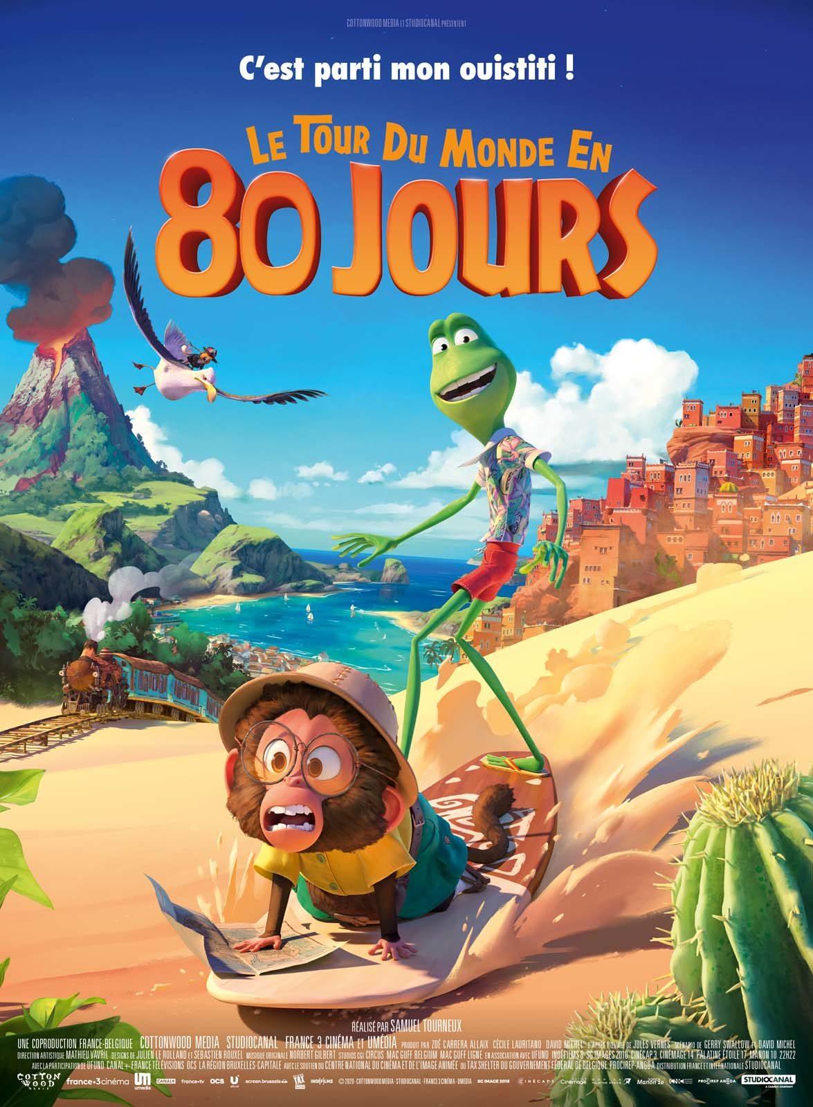 Ciné « Le tour du monde en 80 jours »