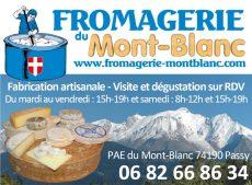 Fromagerie du Mont-Blanc se visite