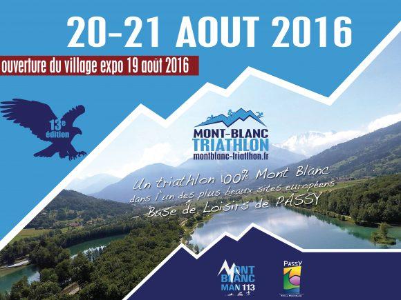 Triathlon international du Mont-Blanc - 14ème édition