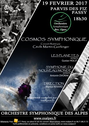 A la une : Cosmo Symphonique - Osalpes
