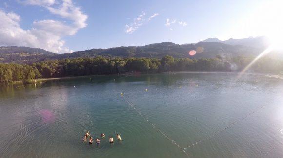Aquabike au Lac de Passy