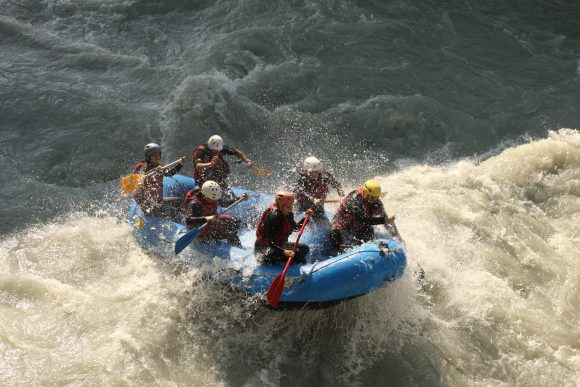 Dora Baltéa Rafting journée et demie journée