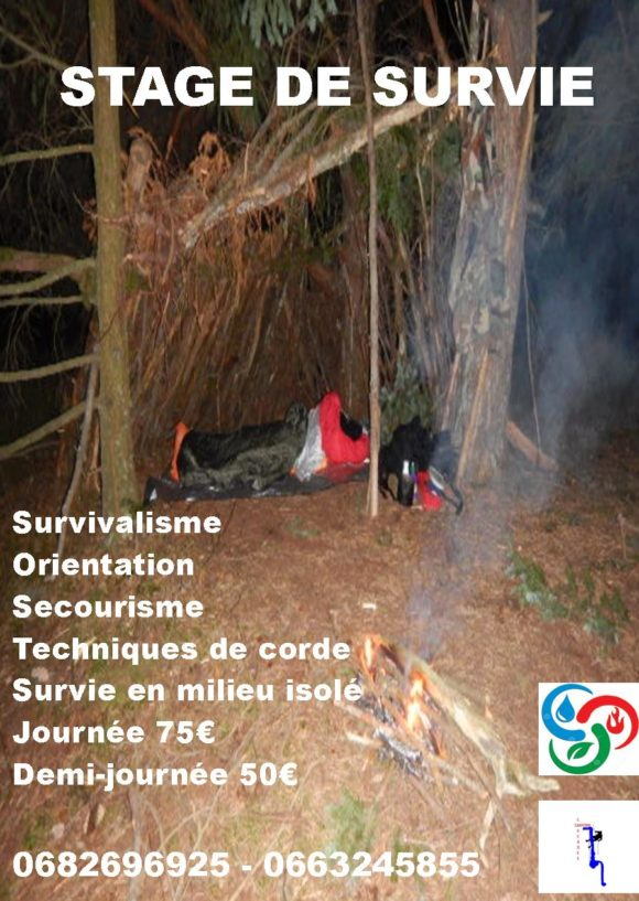Stage de survivalisme