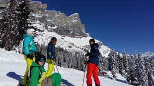 A la une : Ouverture partielle du domaine skiable