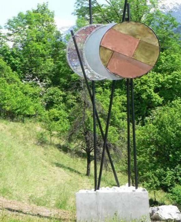 Sculpture : La Porte du Temps