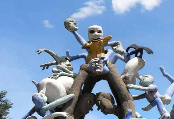 Sculpture - La Grande Echelle