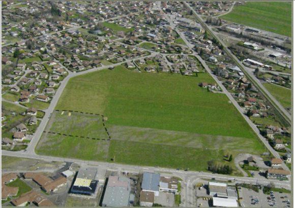 Terrain d'atterrissage de Marlioz - Batistock