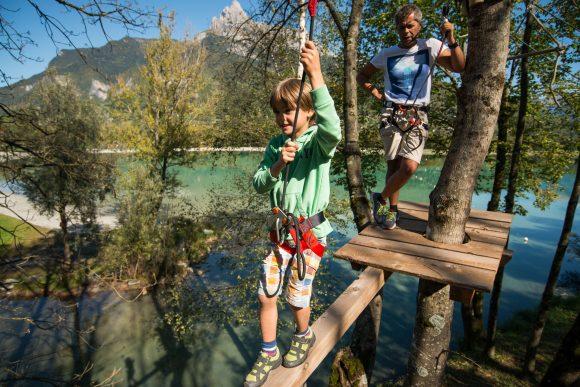 Accrochez-vous à l'aventure au lac de Passy