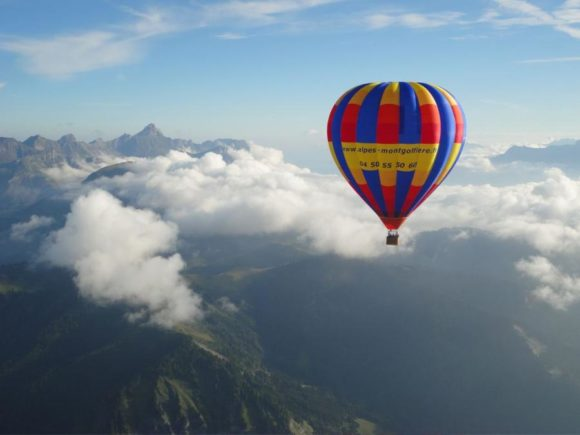 Base d'envol de montgolfières
