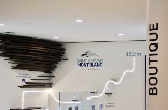 La boutique des Thermes de Saint-Gervais