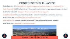 Conférences Run et Sens, la tête et les jambes