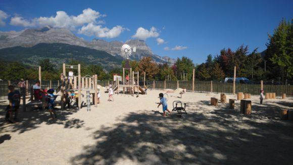 Aire de jeux - Lac de Passy