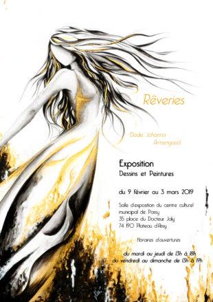 A la une : Rêveries - Exposition d'Elodie Armengaud