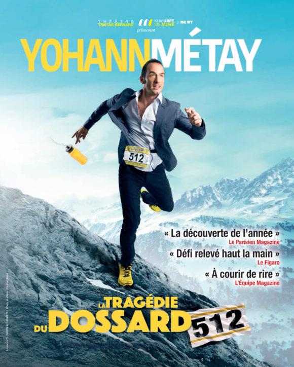 La tragédie du dossard 512 - Yohann Métay