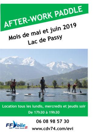 A la une : Afterwork paddle