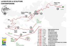 Visite guidée de la Route de la Sculpture Contemporaine