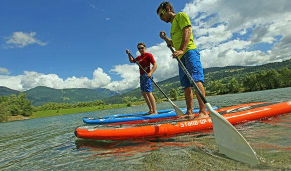 Aqua Park : Location de paddle au lac de Passy