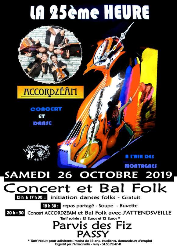 Concert folk et bal de la 25ème heure