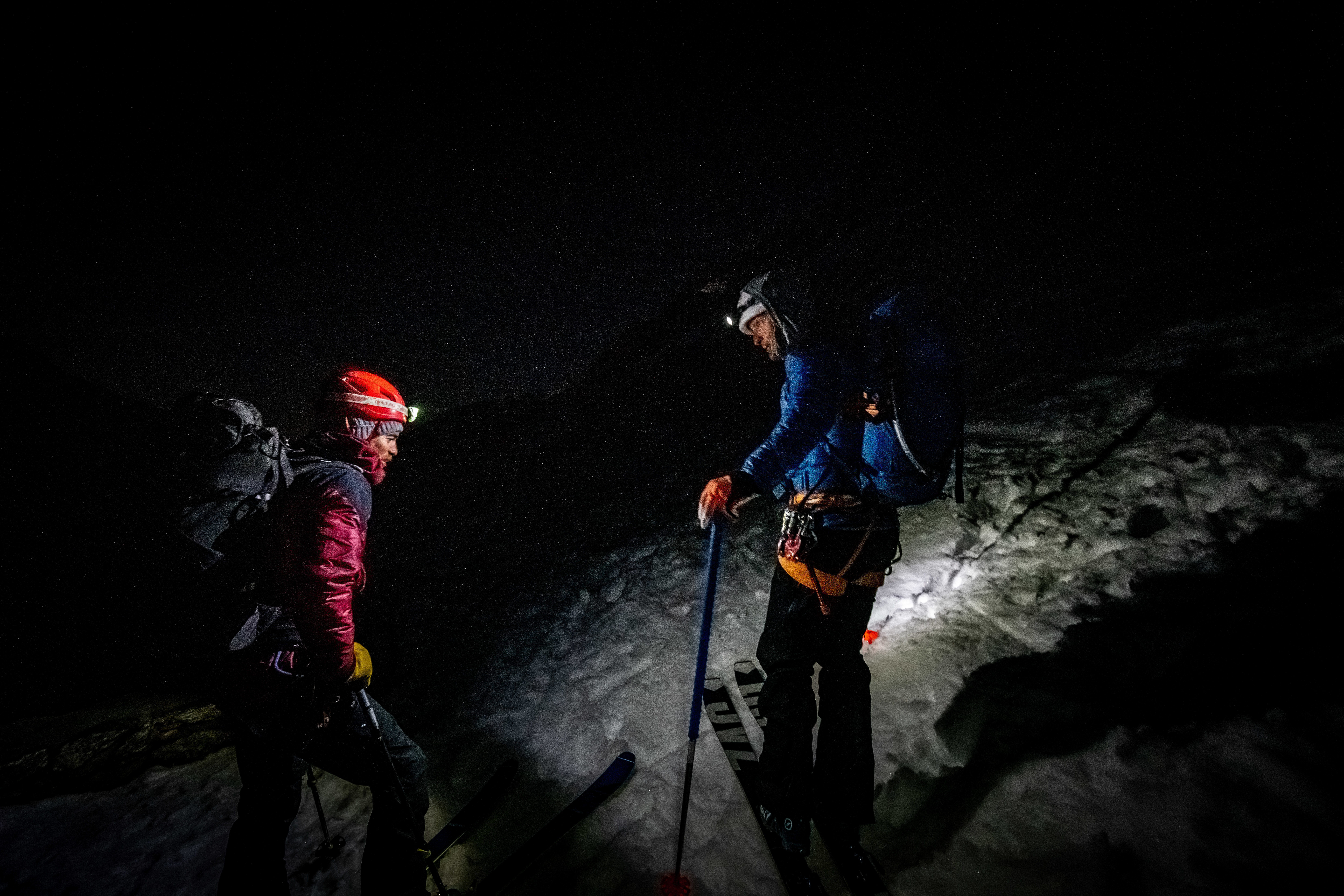 Découverte nocturne de Plaine-Joux en ski de randonnée