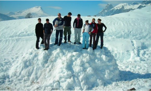 Et si on construisait un igloo !