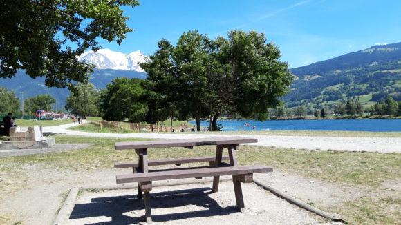Aire de Pique-nique Lac de Passy