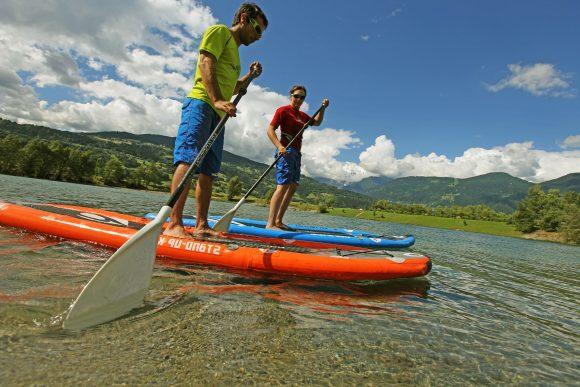 Séance Stand Up Paddle lacs et rivières