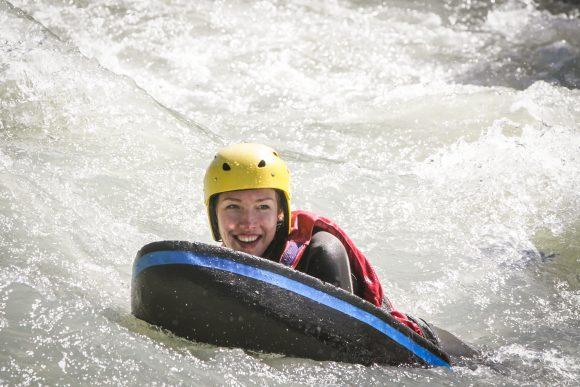 Hydrospeed Action à Chamonix